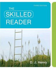The Skilled Reader 3rd Edition 9780205780877 0205780873