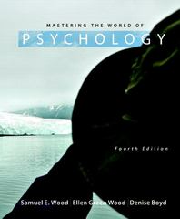 Mastering the World of Psychology 4th edition 9780205003310 0205003311