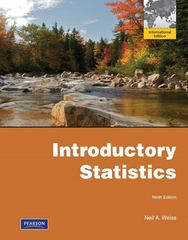 Introductory Statistics 9th edition 9780321740458 0321740459
