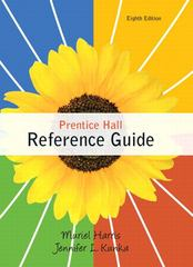 Prentice Hall Reference Guide 8th edition 9780205782314 0205782310