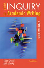 From Inquiry to Academic Writing 2nd Edition 9780312601409 0312601409