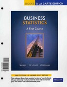 Business Statistics 1st edition 9780321693198 0321693191