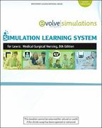 Simulation Learning System for Lewis et al:  Medical-Surgical Nursing (User Guide and Access Code) 8th edition 9780323079136 032307913X