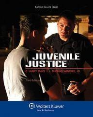 Juvenile Justice 3rd Edition 9780735507685 0735507686