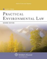 Practical Environmental Law 2nd Edition 9780735507807 0735507805