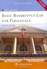 Basic Bankruptcy Law for Paralegals 8th edition 9780735507869 0735507864