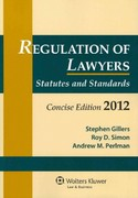 Regulation of Lawyers 0 9780735508613 0735508615