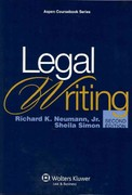 Legal Writing 2nd Edition 9780735599949 0735599947
