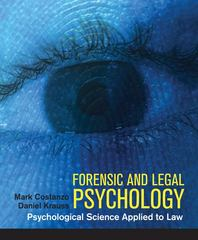 Forensic and Legal Psychology 1st edition 9781429205788 1429205784