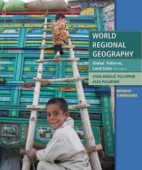 World Regional Geography without Subregions 5th Edition 9781429232449 1429232447