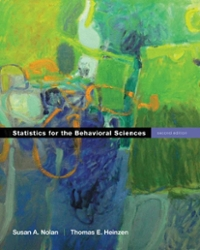 Statistics for the Behavioral Sciences 2nd edition 9781429232654 142923265X