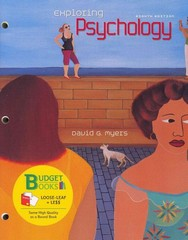 Exploring Psychology (Loose Leaf) & PyschPortal Access Card 8th edition 9781429262460 142926246X
