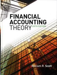Financial Accounting Theory 6th edition 9780135119150 0135119154