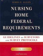 Nursing Home Federal Requirements 7th edition 9780826107909 0826107907