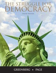 The Struggle for Democracy 10th edition 9780205771295 0205771297