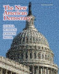 The New American Democracy 7th edition 9780205780167 0205780164