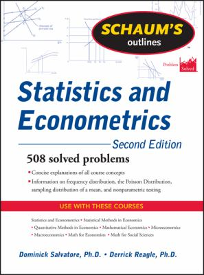 Schaum's Outline of Statistics and Econometrics, Second Edition 2nd edition 9780071755474 0071755470