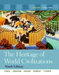The Heritage of World Civilizations 9th edition 9780205803477 0205803474