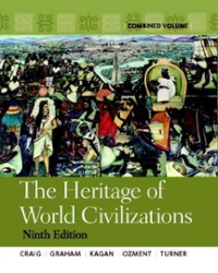 The Heritage of World Civilizations 9th edition 9780205803507 0205803504