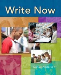 Write Now 1st edition 9780132415477 013241547X