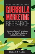 Guerrilla Marketing Research 1st Edition 9780749445744 0749445742