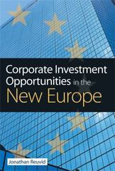 Corporate Investment Opportunities in the New Europe 0 9780749446369 0749446366