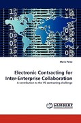 Electronic Contracting for Inter-Enterprise Collaboration 0 9783838368627 3838368622