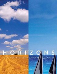 Horizons 5th edition 9780495912491 0495912492