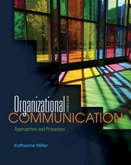Organizational Communication 6th edition 9780495898320 0495898325