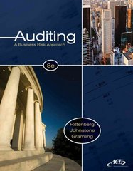 Auditing 8th edition 9780538476232 0538476230