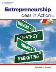Entrepreneurship 5th Edition 9780538496896 0538496894