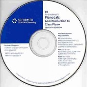 CD for PianoLab 7th edition 9780495897712 049589771X