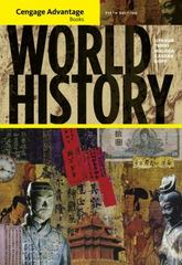 Cengage Advantage Books: World History 5th edition 9781111345143 1111345147