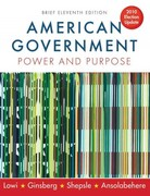 American Government 11th edition 9780393118216 0393118215