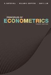 Principles of Econometrics 4th Edition 9781118136966 1118136969