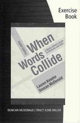 Student Workbook for Kessler/McDonald's When Words Collide, 8th 8th Edition 9780495901617 049590161X