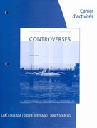 Student Activities Manual for Oukada/Bertrand/Solberg's Controverses 2nd Edition 9781439082065 1439082065