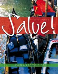 Salve! 2nd Edition 9781133418979 113341897X