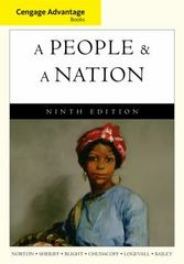 Cengage Advantage Books: A People and a Nation 9th edition 9780495916246 0495916242