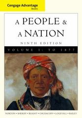 Cengage Advantage Books: A People and a Nation 9th edition 9780495916253 0495916250