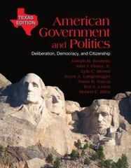 American Government and Politics 1st edition 9780495905882 0495905887