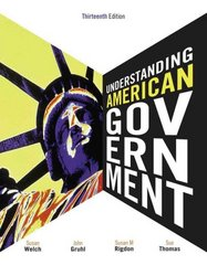 Understanding American Government 13th edition 9780495910503 0495910503