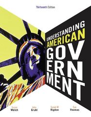Understanding American Government 13th edition 9781111344030 1111344035