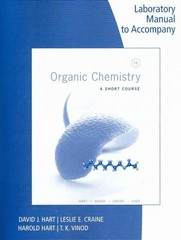 Lab Manual for Organic Chemistry: A Short Course 13th Edition 9781111425845 1111425841