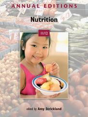 Annual Editions: Nutrition 11/12 23th Edition 9780073515571 0073515574