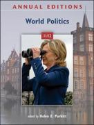 Annual Editions: World Politics 11/12 32nd edition 9780078050930 0078050936