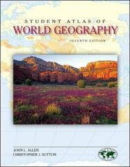 Student Atlas of World Geography 7th Edition 9780073527628 0073527629