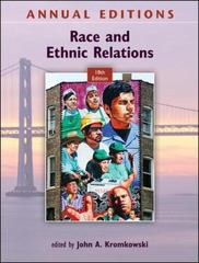Annual Editions: Race and Ethnic Relations, 18/e 18th edition 9780078050893 0078050898
