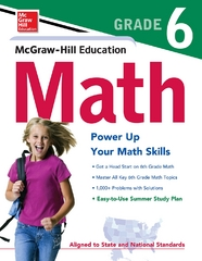 McGraw-Hill Education Math Grade 6 1st edition 9780071747318 0071747311