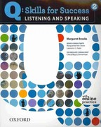 Q: Skills for Success 2 Listening & Speaking Student Book with Student Access Code Card 1st Edition 9780194756112 0194756114